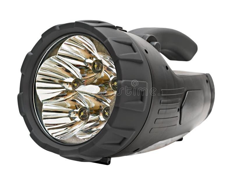 Lâmpada automotriz plástica preta do diodo emissor de luz fotos de stock