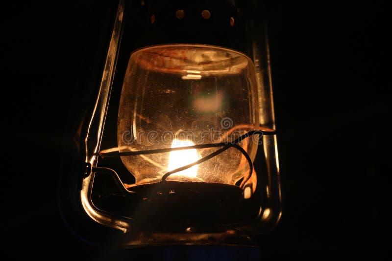 Lâmpada bonita da gasolina no país imagens de stock royalty free
