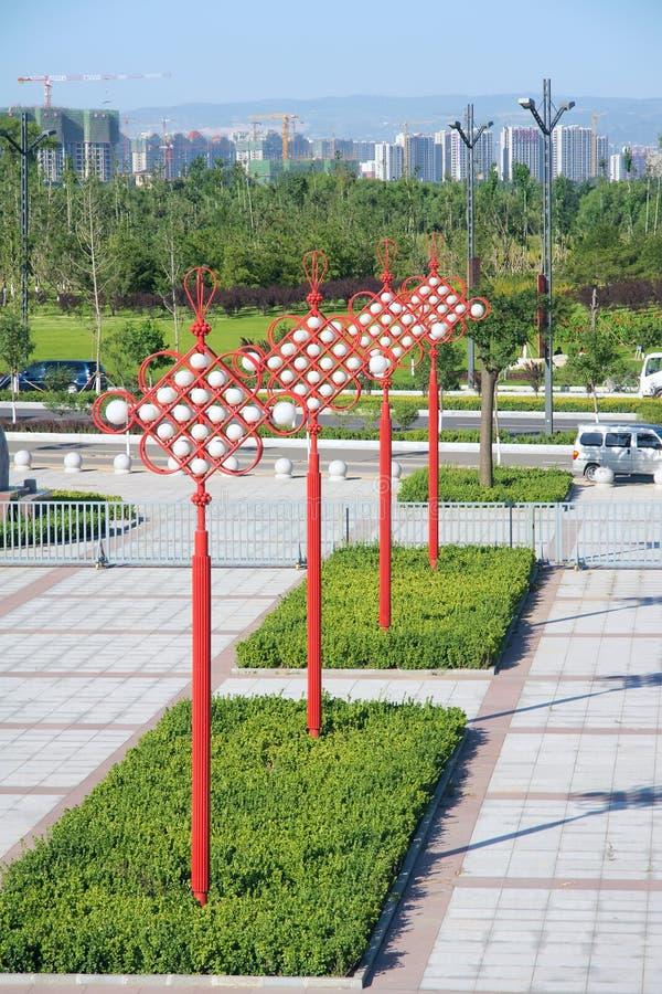 Lâmpada chinesa fotografia de stock royalty free