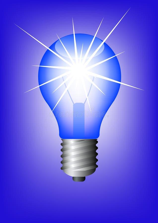 Lâmpada da iluminação ilustração stock