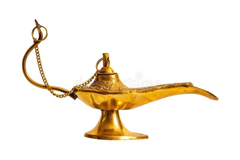 Lâmpada da mágica de Aladdin foto de stock
