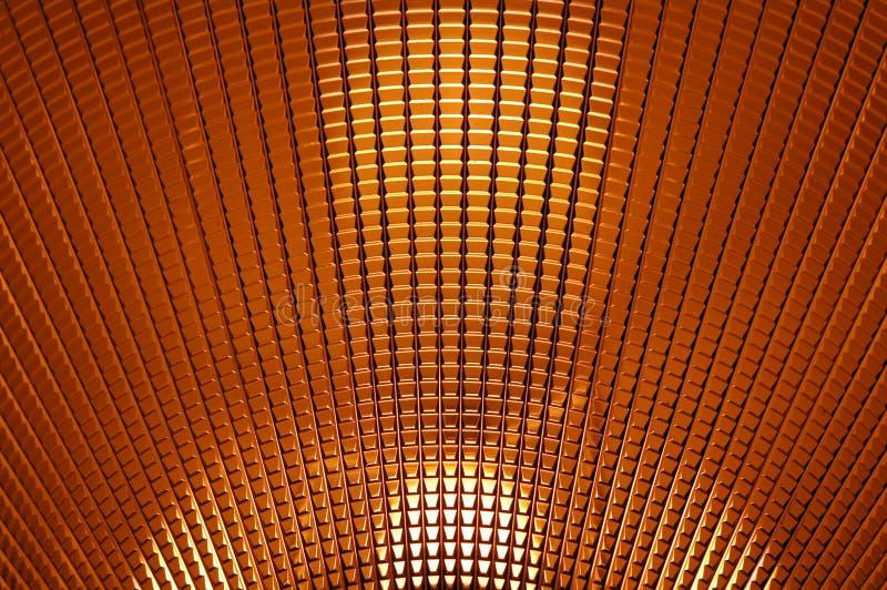 Lâmpada da textura fotografia de stock