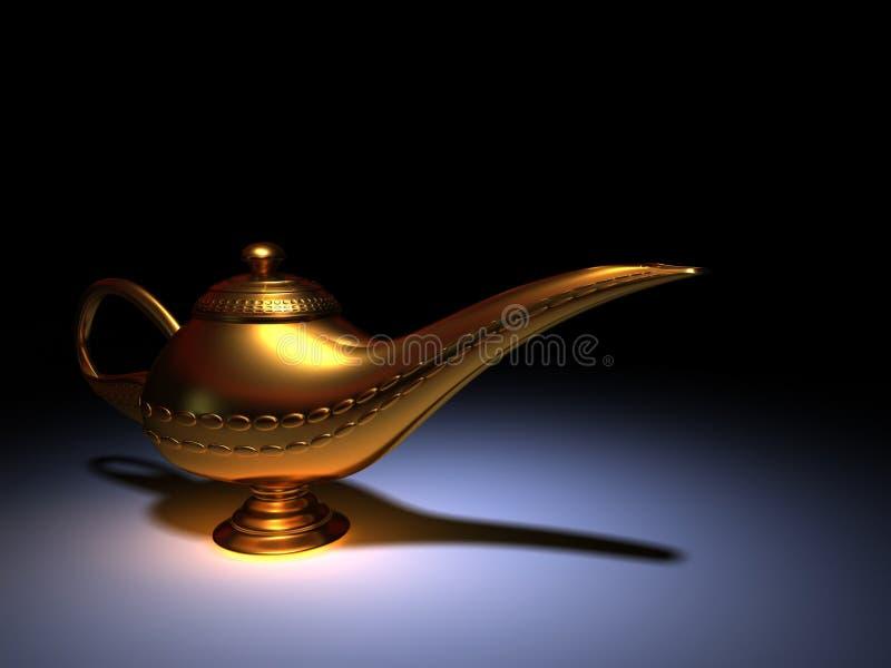 Lâmpada de Aladdin foto de stock royalty free