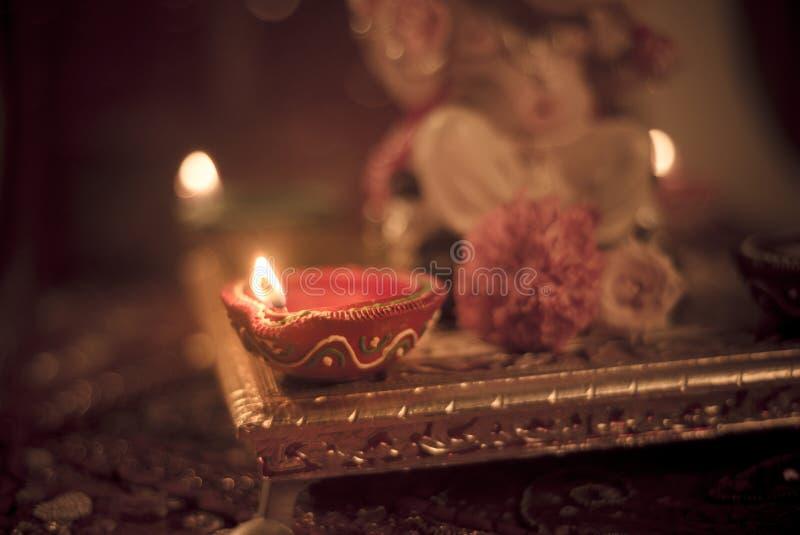 Lâmpada de Diwali imagens de stock royalty free