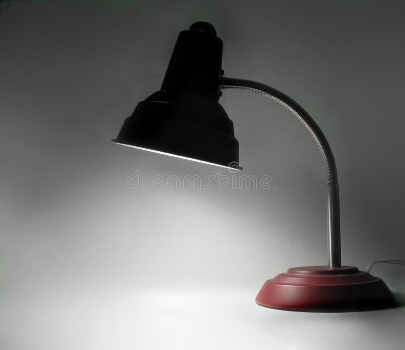 Lâmpada de mesa imagem de stock