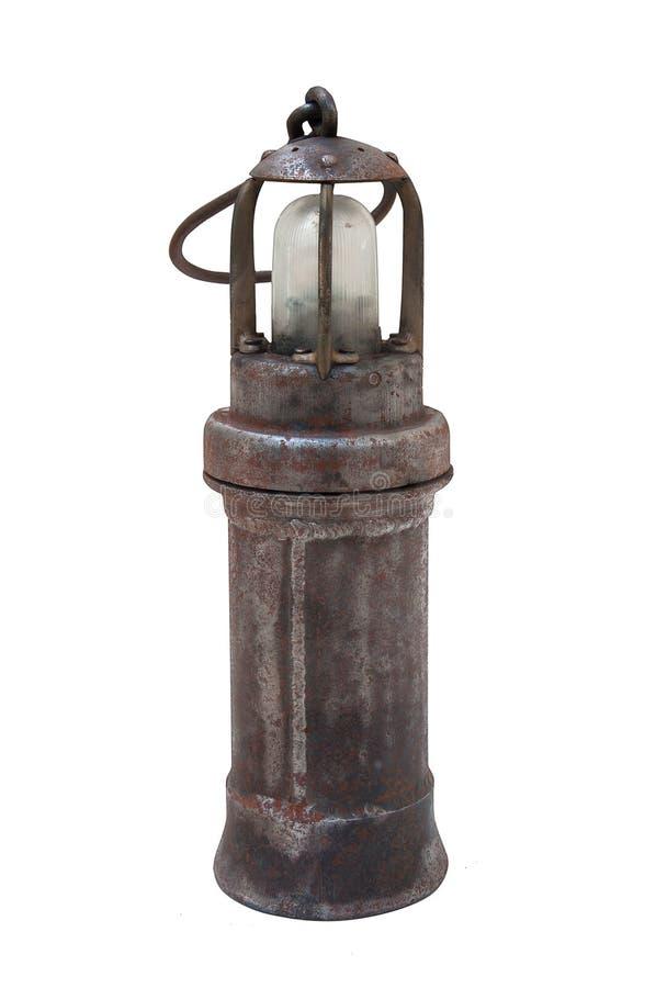 Lâmpada de mineiro foto de stock royalty free