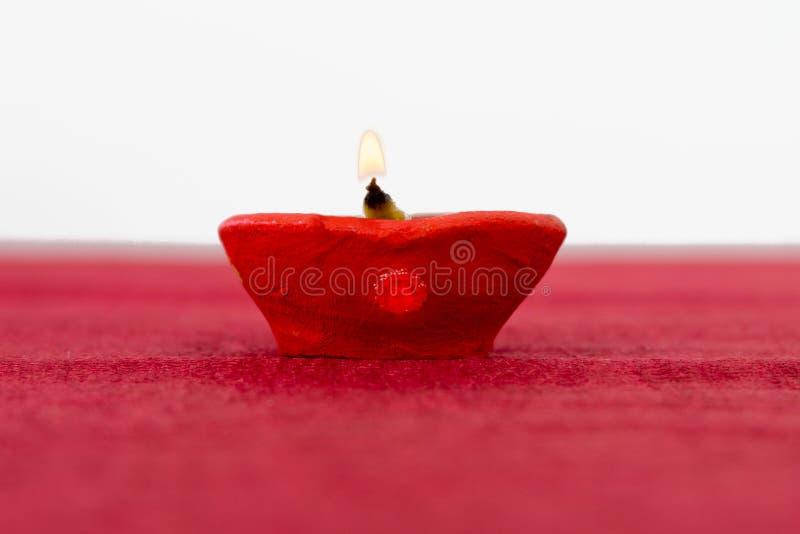 Lâmpada de petróleo de Diwali fotos de stock