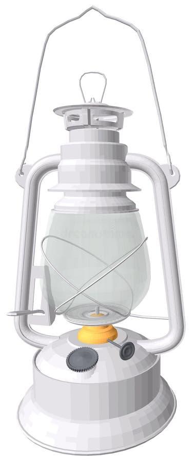 Lâmpada de querosene ilustração royalty free