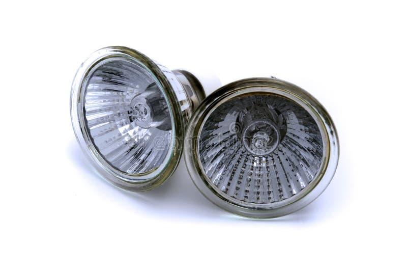 Lâmpada de refletor do halogênio imagem de stock