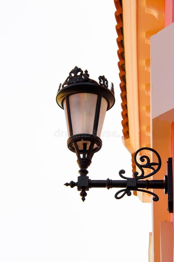 Lâmpada de rua clássica em Venezia fotos de stock royalty free