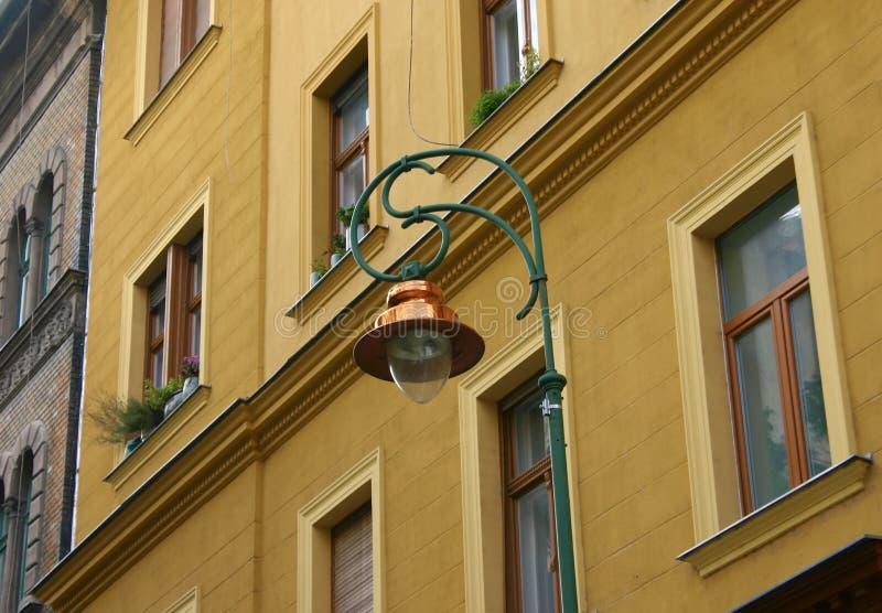 Lâmpada de rua de Budapest foto de stock