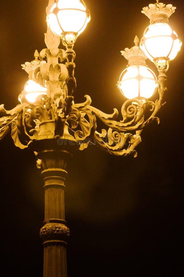 Lâmpada de rua de Vatican fotos de stock