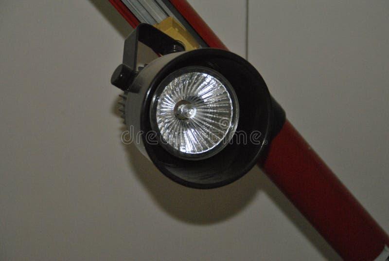 Lâmpada do halogênio para dentro foto de stock