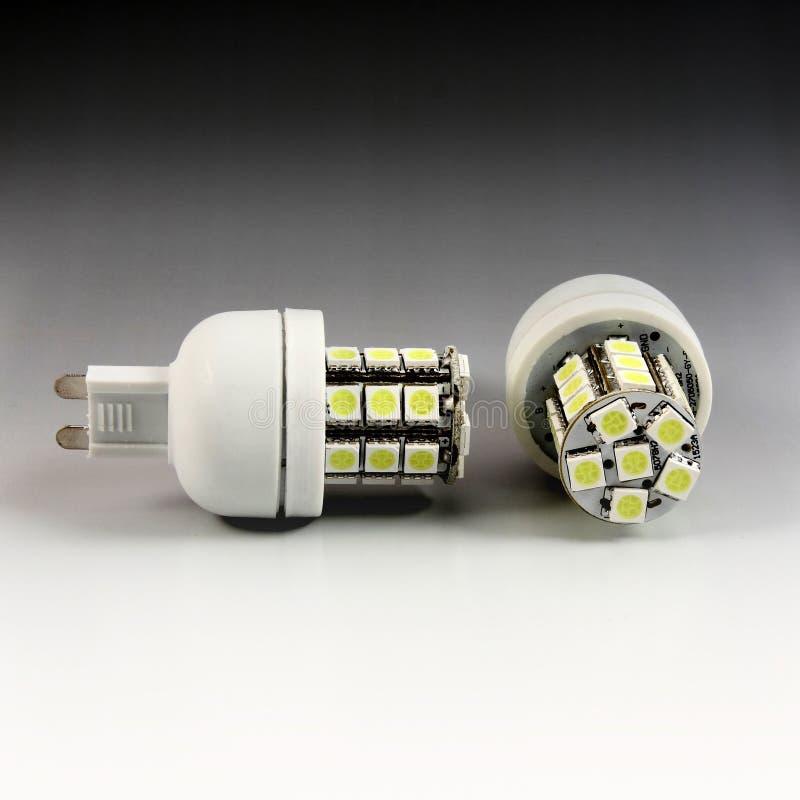 Lâmpada do milho do diodo emissor de luz fotos de stock