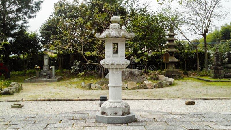Lâmpada do templo de Kaidan-em imagem de stock royalty free