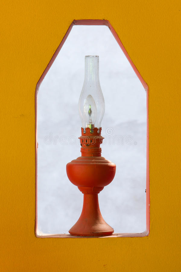 Lâmpada elétrica velha imagem de stock royalty free