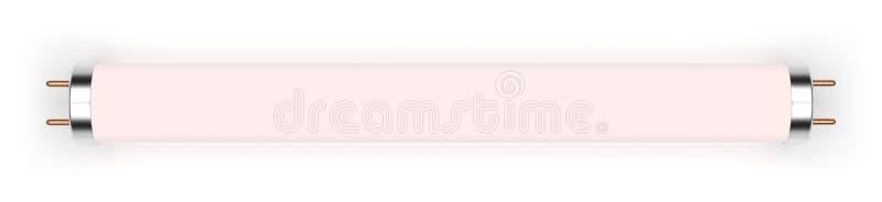Lâmpada fluorescente da luz do dia foto de stock