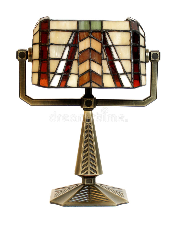 Lâmpada isolada da vela imagem de stock royalty free