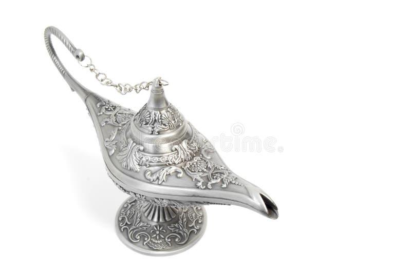 Lâmpada mágica de Aladdin foto de stock
