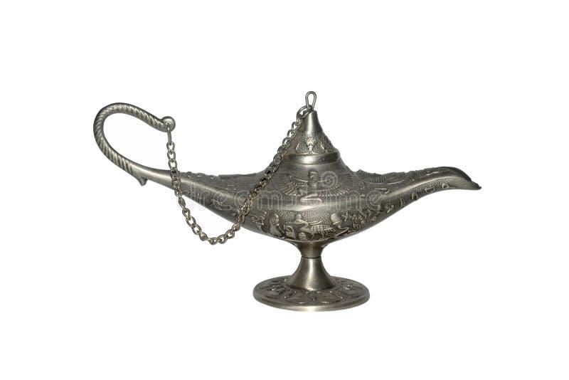 Lâmpada mágica do alladin imagem de stock royalty free