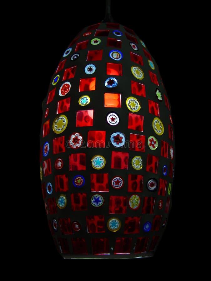 Lâmpada Multicolor fotografia de stock