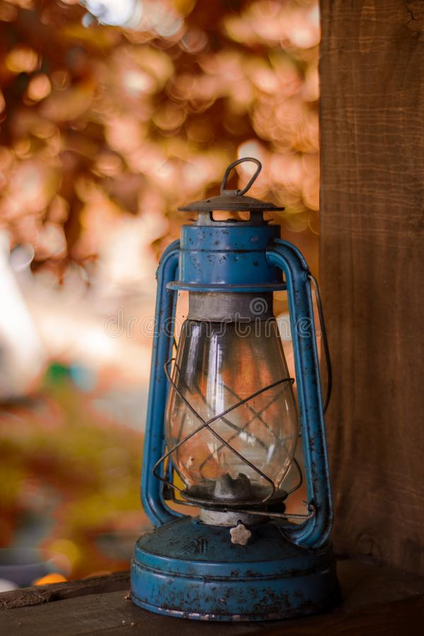A lâmpada na rua foto de stock royalty free