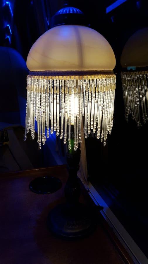 Lâmpada no clube noturno imagem de stock
