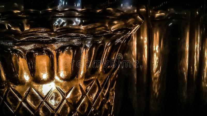 Lâmpada no salão fotografia de stock