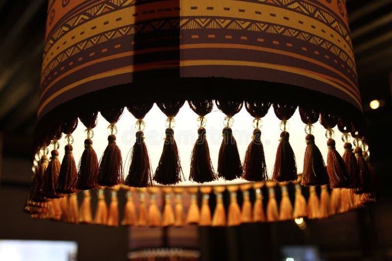 Lâmpada oriental do chayhana imagem de stock