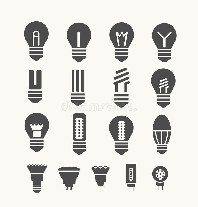 lâmpadas ilustração do vetor