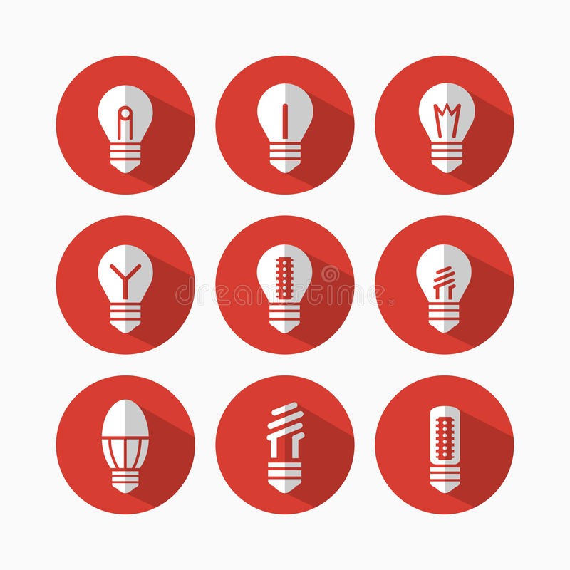 lâmpadas ilustração royalty free