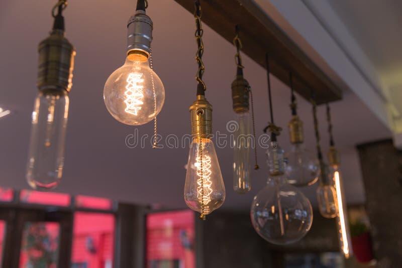 lâmpadas fotografia de stock