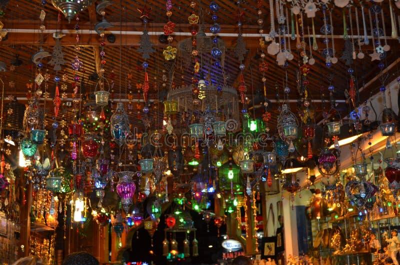 Lâmpadas egípcias imagens de stock