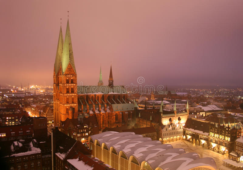 LÃ ¼ Kessel, Deutschland stockbilder