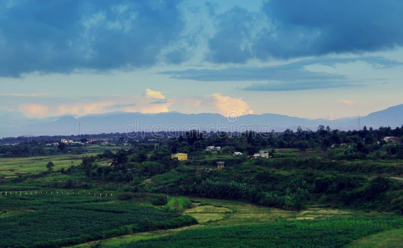 Làng quê (mijn land) stock fotografie