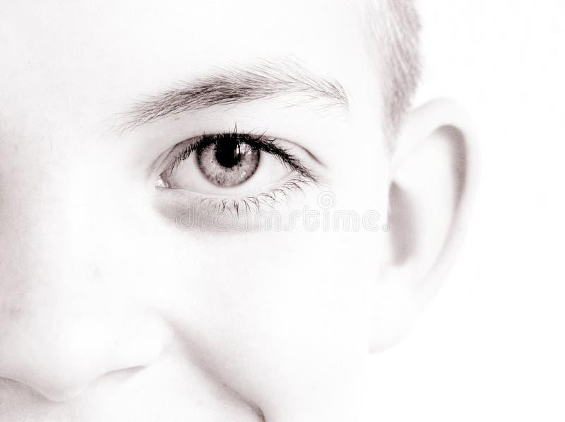 Download Lächeln stockbild. Bild von rein, lächeln, serenity, auge - 25445