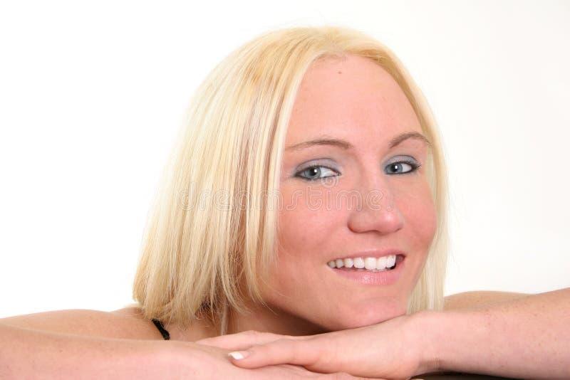 Lächeln! lizenzfreies stockfoto