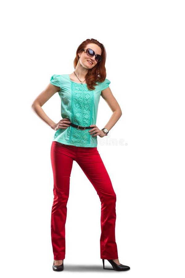Lächeln der jungen Frau lizenzfreies stockbild