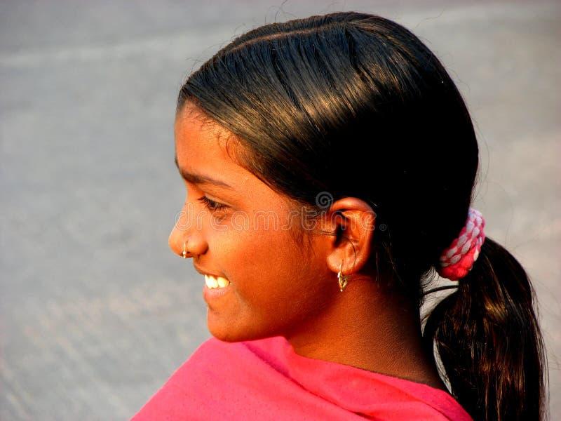 Lächeln von Indien lizenzfreie stockfotografie