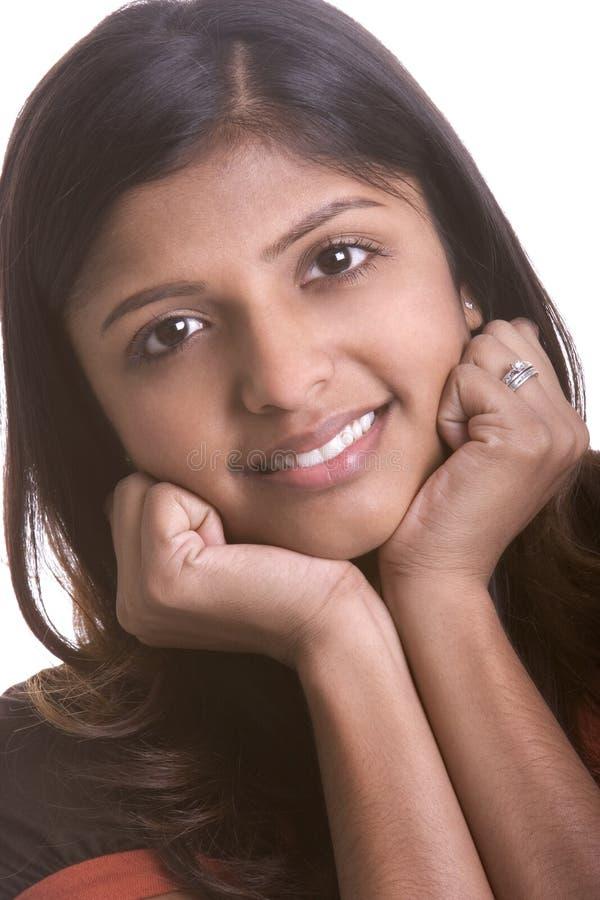 Lächelnde Frau stockbilder