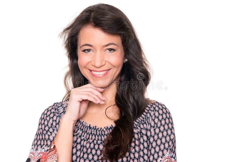 Lächelnde Frau lizenzfreies stockbild
