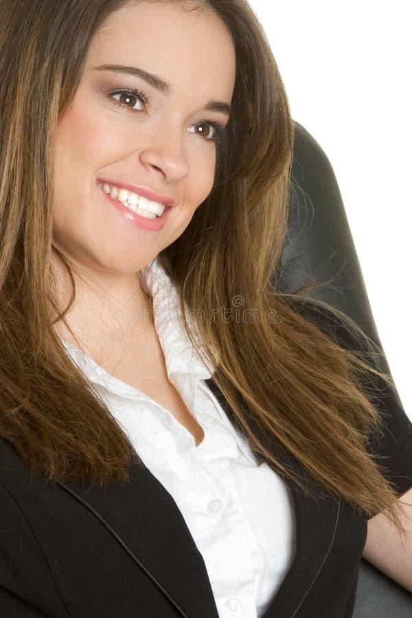 Lächelnde Geschäfts-Person lizenzfreies stockfoto