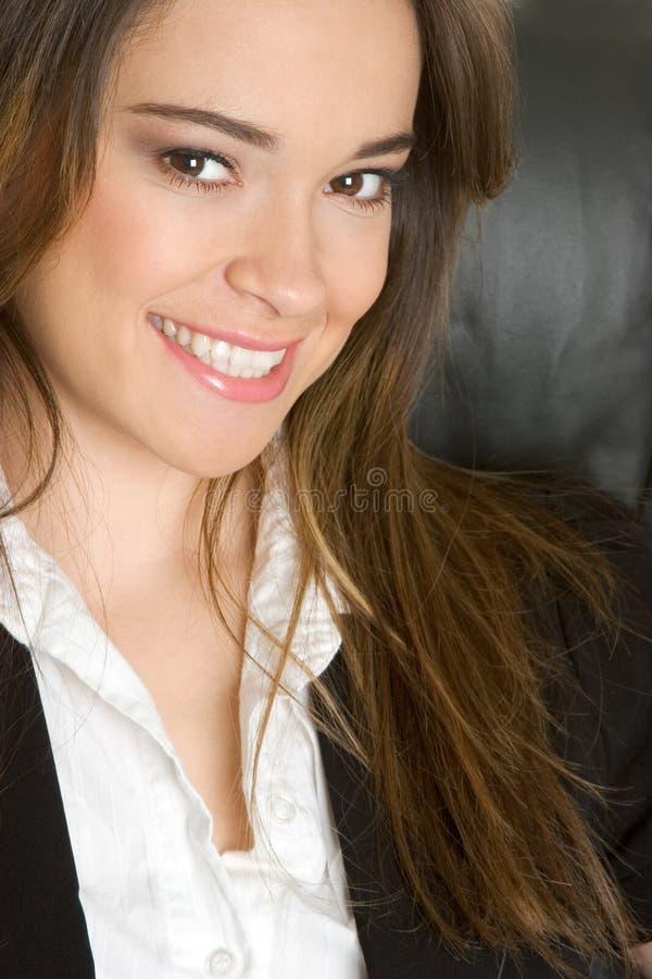Lächelnde Geschäfts-Person lizenzfreies stockbild