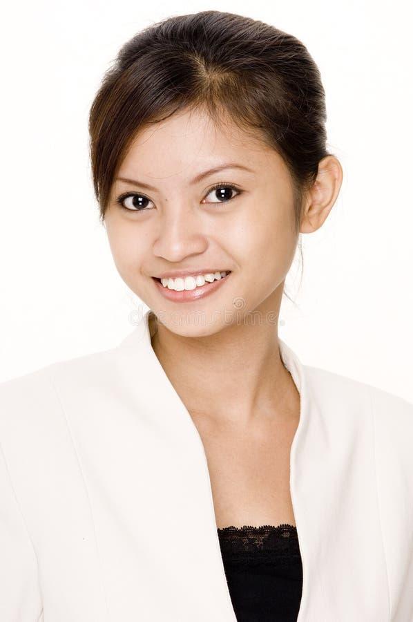 Lächelnde Geschäftsfrau 5 stockbild