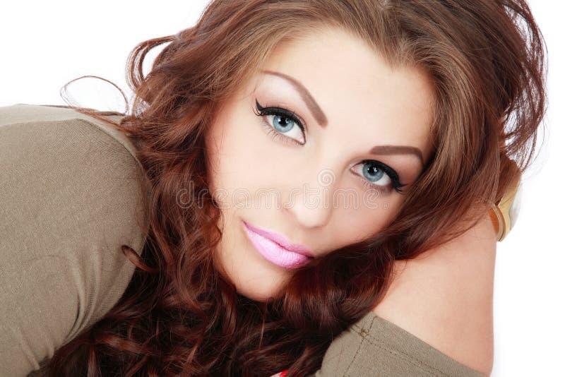 Lächelnde Schönheit stockfotos