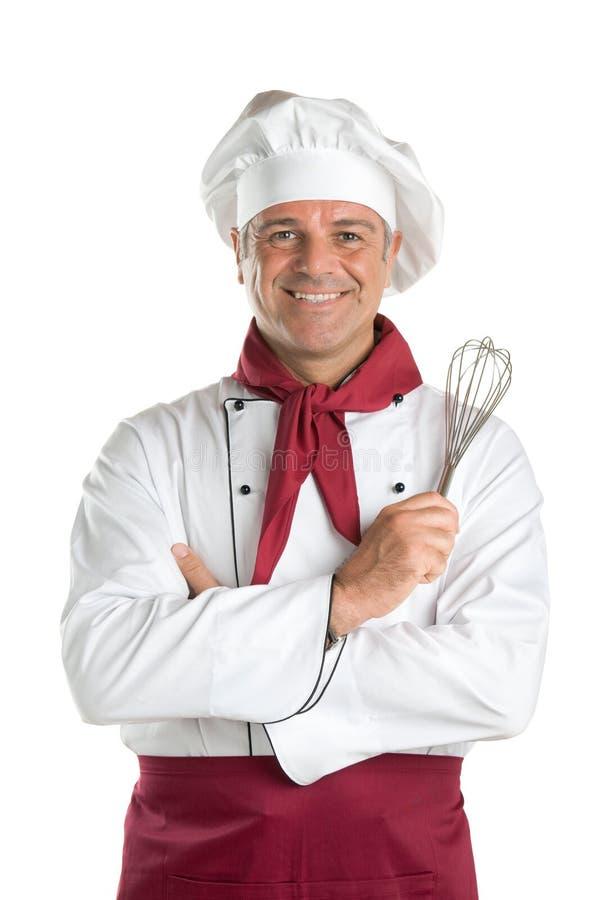 Lächelnder Chef lizenzfreies stockbild