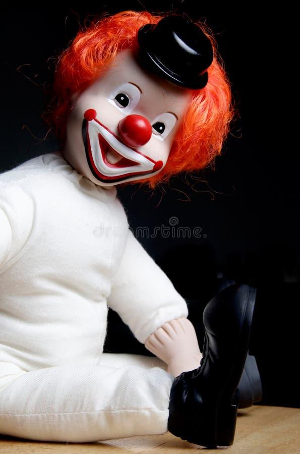 Lächelnder Clown stockfoto