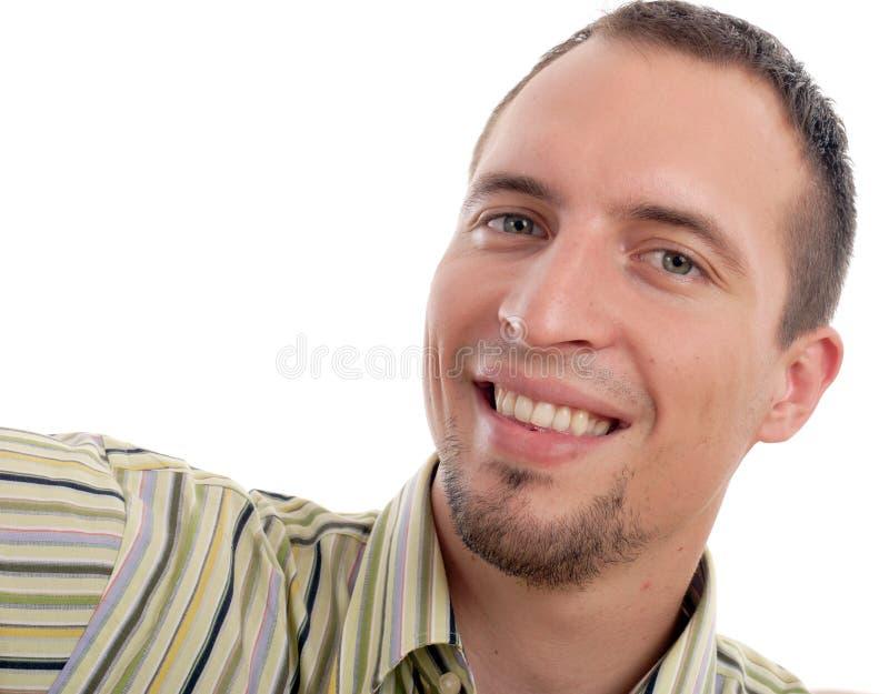 Lächelnder Mann lizenzfreie stockbilder