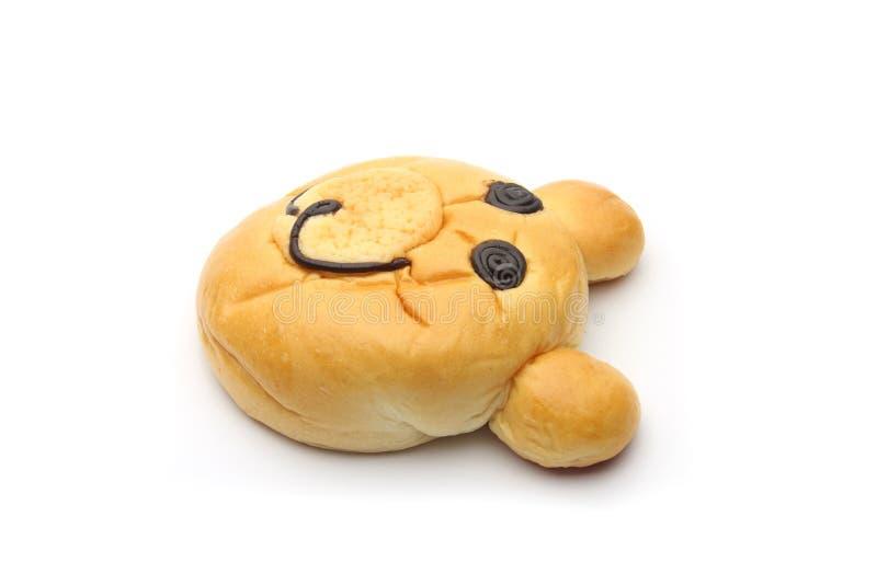 Lächelndes Bärnbrot stockfoto