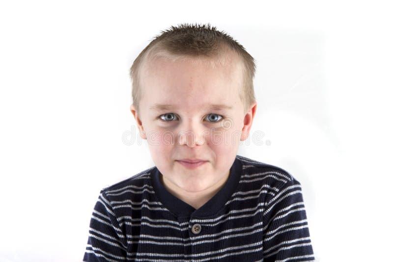 Lächelndes Kind stockfoto